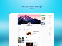 Facebook profile redesign