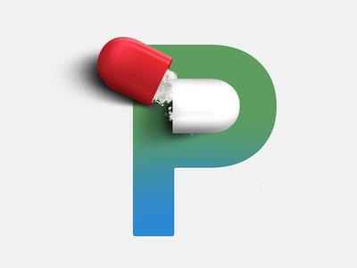 P as Pill