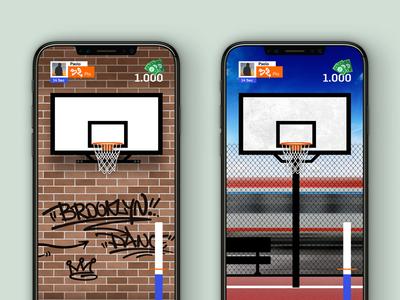 Basket Game App Concept