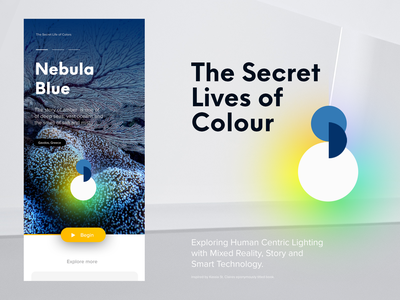 The Secret Lives of Colour smartliving smarthome human colour lighting light concept