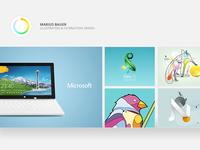 Designing www.mariusbauer.com