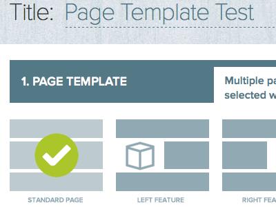 Custom Admin UI ui administration admin expressionengine front-end menu interface blue
