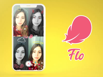 Snapchat Lens - Flo: Choose your mood