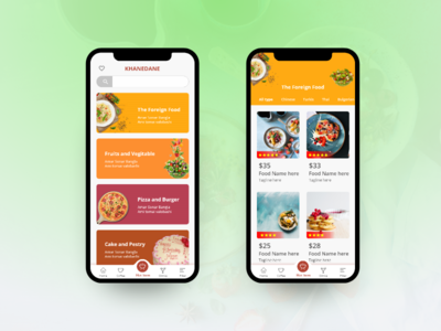Food App Screen
