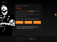 cervencotter.com - new version