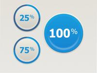 Percentage interface