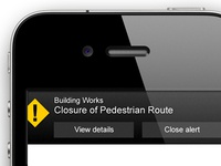 Mobile website Notification / Alert