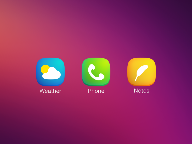 Ios7 icons plain preview