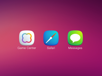 Plain iOS7 Icons Pt. 2