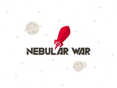 Nebular War logo rocket