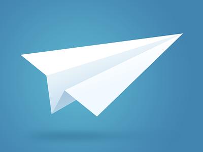 Paper Plane svg icon paper plane freebie