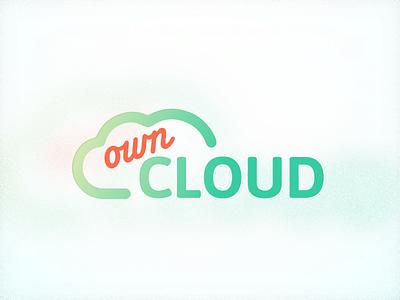 ownCloud Logo logo svg cloud owncloud sketch