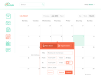 Owncloud theme calendar