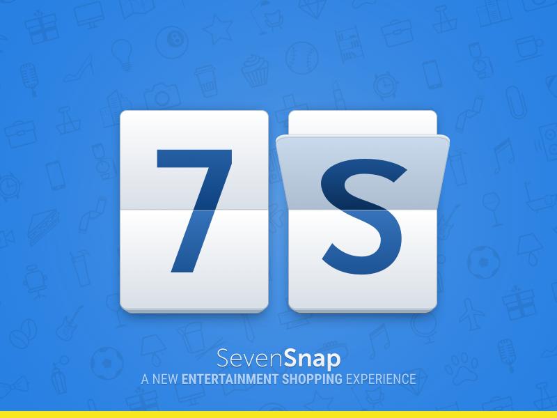 SevenSnap icon app logo flip card iphone svg