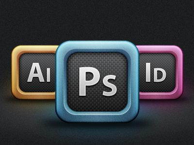 Adobe Creative Suite Icons icons photoshop illustrator indesign