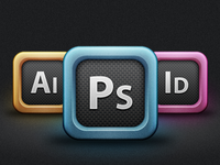 Adobe Creative Suite Icons