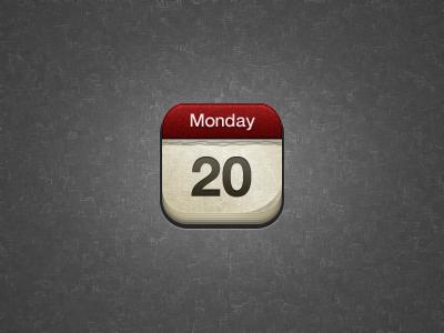 Retina calendar