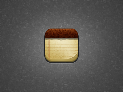 Notes Icon iphone icon notes