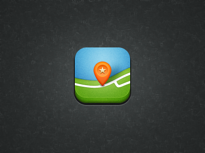 Maps Icon iphone icon maps mark