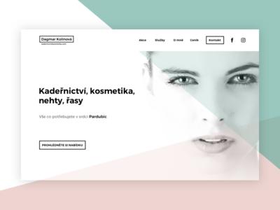Beauty Salon - Website
