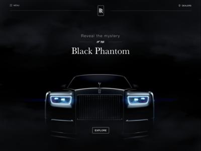 Rolls-Royce Black Phantom