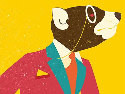 Taz beer editorial colour conceptual illustration