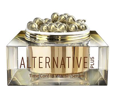 Alternative Plus Jar 3D visualization artdirection packagingdesign visualization cg 3d