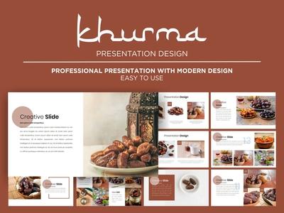 Khurma Presentation Template