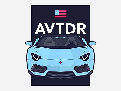 AVTDR osu cmu dailyui uidaily daily ui invitation cars hci lamborghini aventador user experience