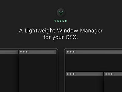 ✨ New App Launch✨ VEEER (Sidepr.) 🖥 osu mhci swift sideproject screenflow macos osx github ui ux hci cmu