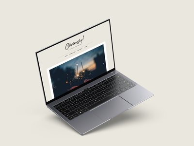 Obviously Events web design landing page design wedding ui design wordpress ui web design website