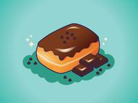 Chocolate Chip Donut