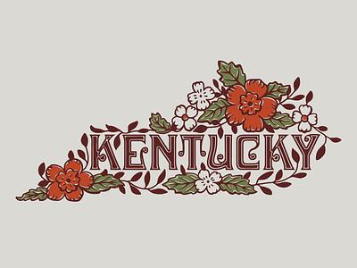 Stoneware Kentucky vintage inspired stoneware vector lettering retro design illustration kentucky