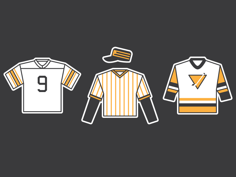 100% authentic 646c5 e3b4a Pittsburgh Champion Uniforms by Rachael Sinclair on Dribbble