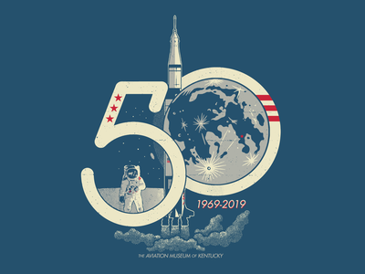 Apollo 11 at 50: Chosen Option moon space saturn v moon landing illustration apollo nasa apollo 11 1969