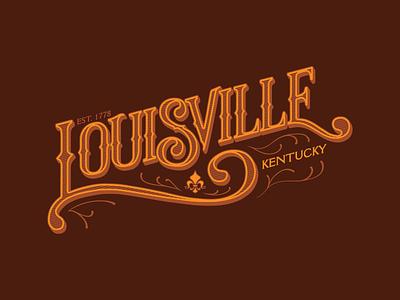 Louisville Victorian tee tee design victorian louisville kentucky lettering