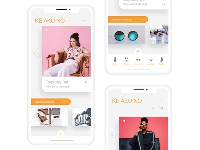 Just For Girls Concept APP app adobe xd design creative vector