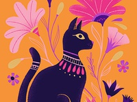 Ancient Critters Cat