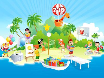 Island, age 7-10