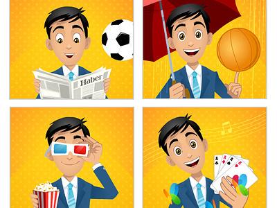 Animated banner ads banner animation flash cartoon flash animation