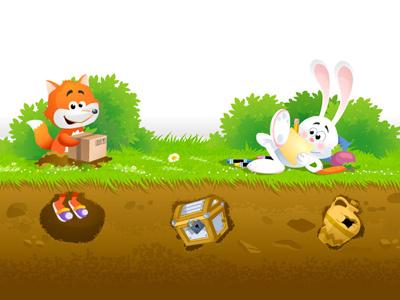 ZamaZuma screen 2 illustration animation children kids flash