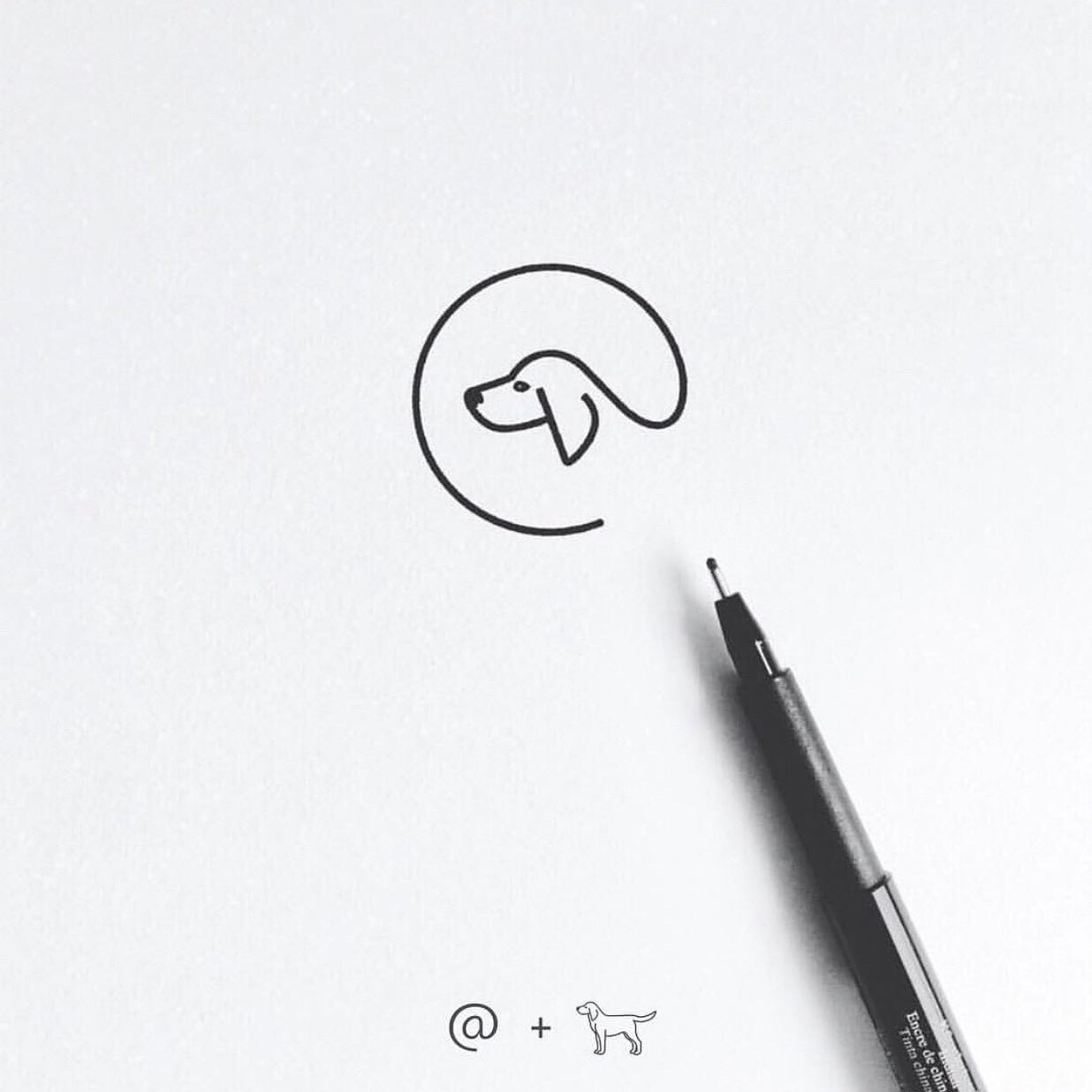 National Pet Day - Dog Icon identity illustration branding brand logo iconography icon dog pet pets