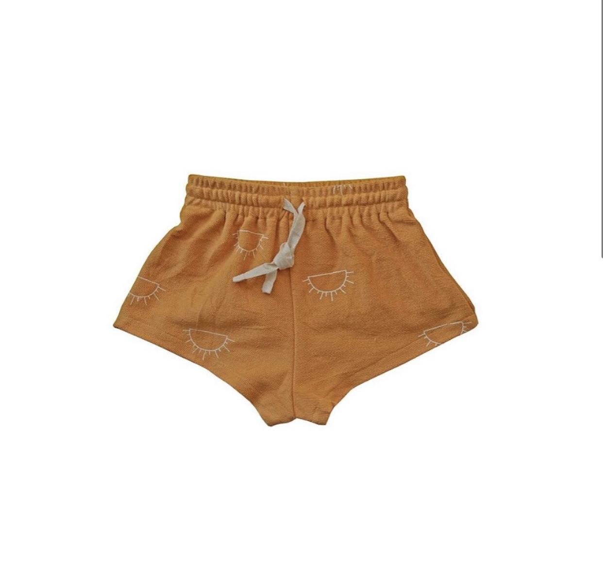 Children's Apparel Summer Collection california asheville designer pattern t-shirt apparel shorts outline sunshine sun kids clothing