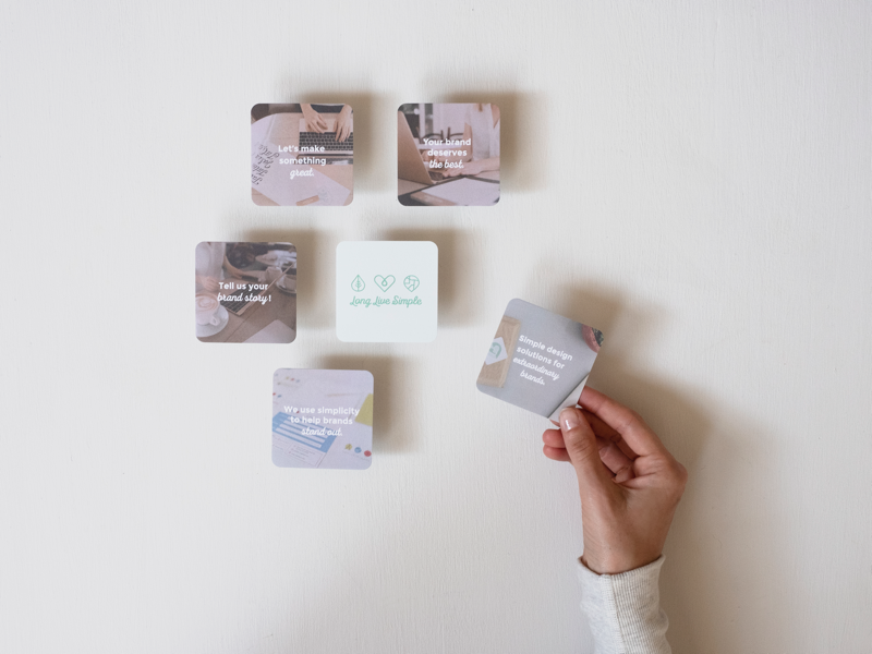 New 100 sustainable business cards by long live simple dribbble image colourmoves