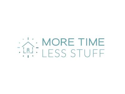 More Time Less Stuff Logo Design