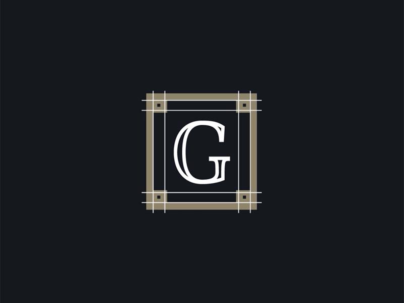 G Sub-Mark Monogram logos custom builder iconography icon logo lettering letters monogram g