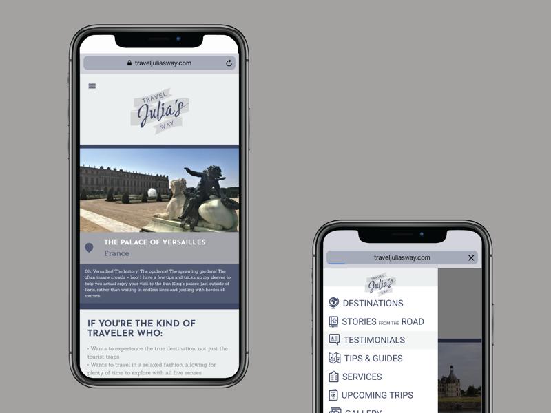 Travel Agent Website Updates designer maintenance branding identity web ux iconography travel website