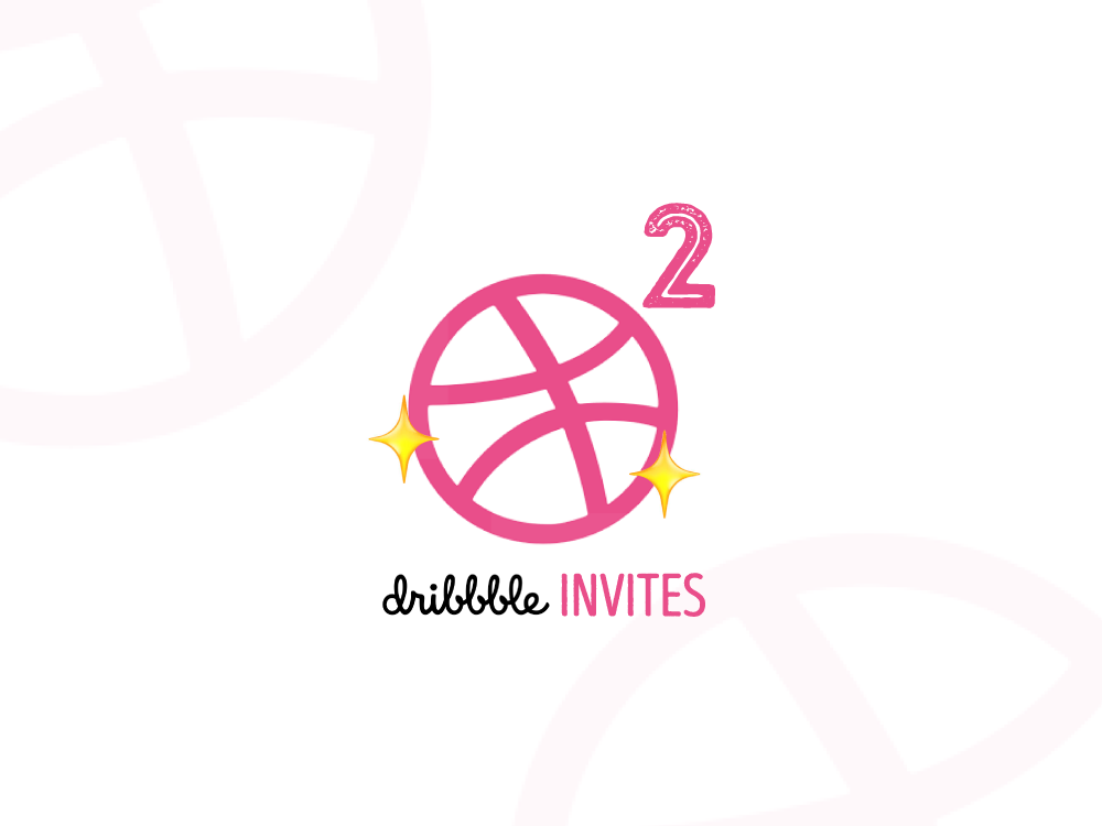 dribbble² Invites dribbbleinvite invitation double squared dribbble invite giveaway dribbble invites dribbble new player player invites giveaway invites invitations