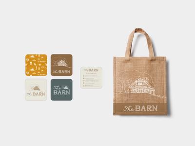The Barn Branding