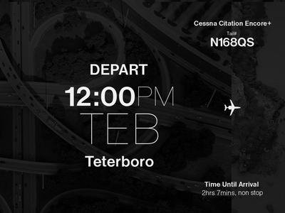 Departure jet travel private aviation flight